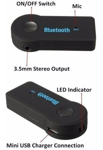 receptor bluetooth 3.0 manoslibres autoestereo ad2p 3.5mm