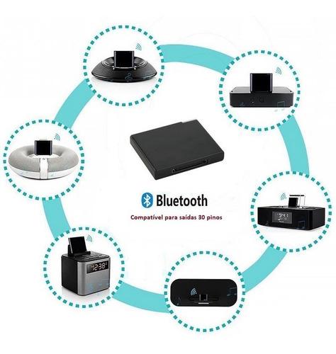 receptor bluetooth 30 pinos dock station bose jbl iphone