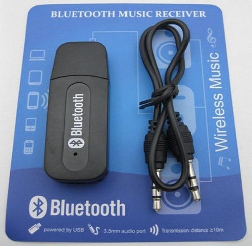 receptor bluetooth adaptador p2 audio usb carro musica
