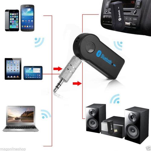 receptor bluetooth audio auxiliar  en caja
