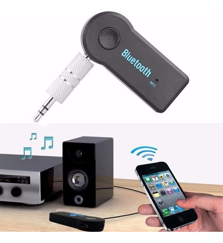 receptor bluetooth audio auxiliar en caja premium y garantía