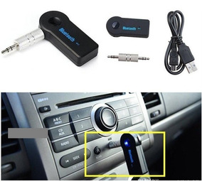Receptor Bluetooth Aux 3 5mm Auto Estéreo Carro Manos Libres