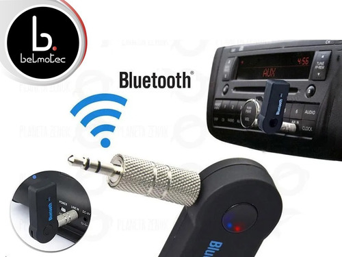 receptor bluetooth aux auto equipo musica parlante stereo