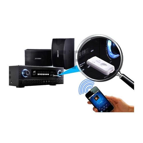 receptor bluetooth auxiliar aux equipos de sonido auto radio