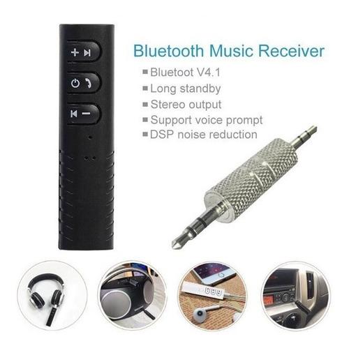 receptor bluetooth batería con control volumen manos libres