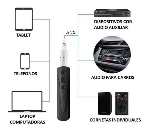 receptor bluetooth carros audífonos cornetas