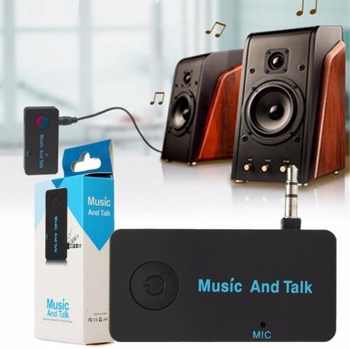 receptor bluetooth música y llamadas hoyn plug 3.5mm auto
