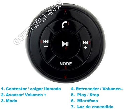 receptor bluetooth para auto musica handsfree  tf  usb fm