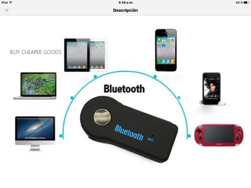 receptor bluetooth para autos, musica, celular, equipos de s