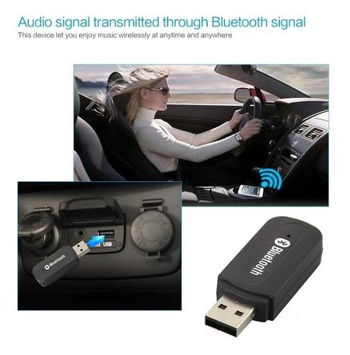 receptor bluetooth para equipos de sonido auto u hogar