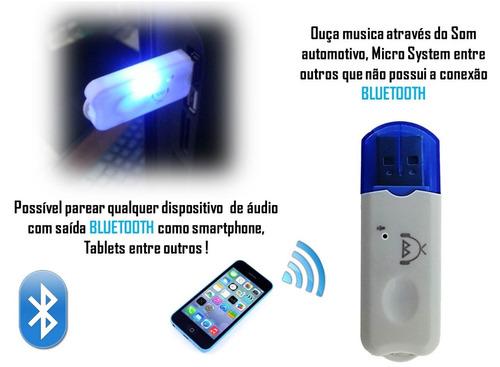 receptor bluetooth usb adaptador musica carro