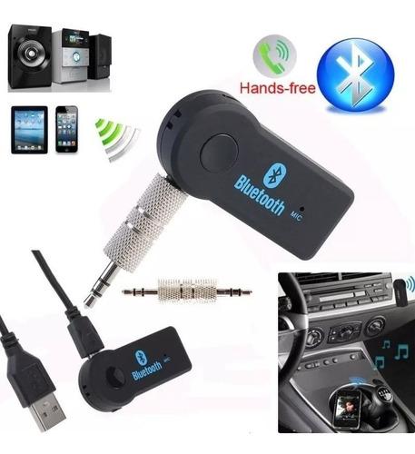 receptor bluetooth usb auto microfono manos libres parlantes