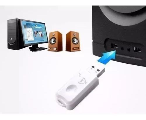 receptor bluetooth usb para parlantes auto estéreo micrófono