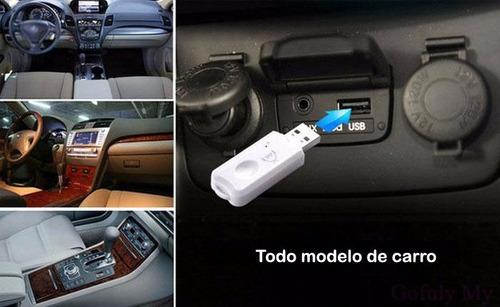 receptor bluetooth usb - sin cables - carros - audio casero