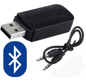 Receptor Bluetooth V4 0 Usb 3 5mm Bocinas Auto Estereo Coche