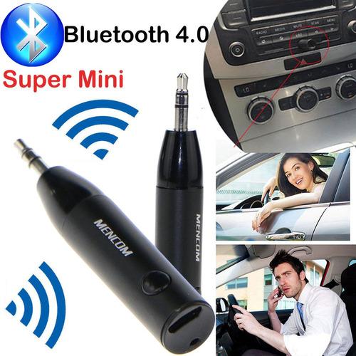 receptor de audio bluetooth 4.1 inalambrico con auxiliar 3.5