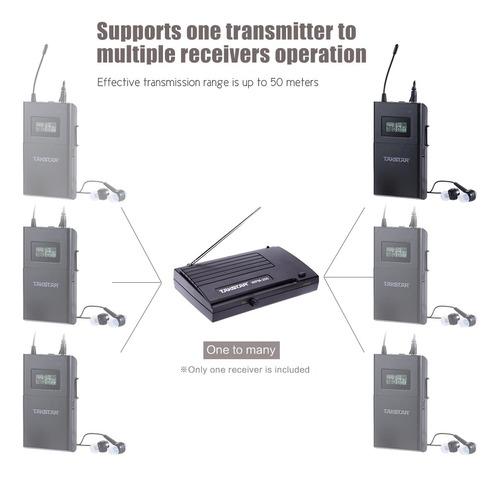 receptor de audio inalambrico takstar wpm-200r