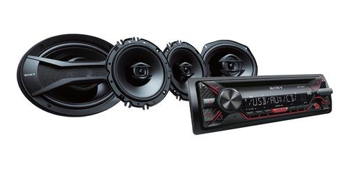 receptor de cd con parlantes de 16cm (6 x 9 ) - cxs-g124su