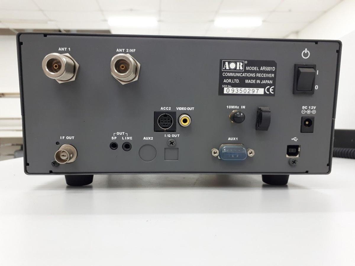 Receptor De Comunicação 40khz - 3 15ghz - Aor Ar5001d