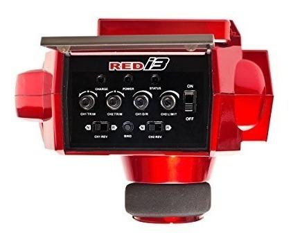receptor de masas flysky i3 3ch 2.4g r / c transmisor, rojo