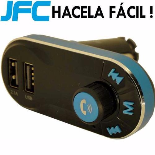 receptor de musica para autos bluetooth usb parlante stereo