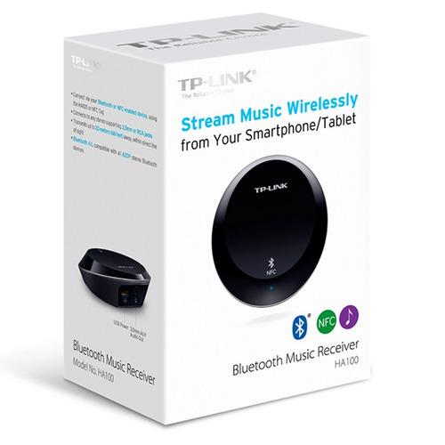 receptor de música/audio bluetooth 4.1 / nfc, tp-link ha100