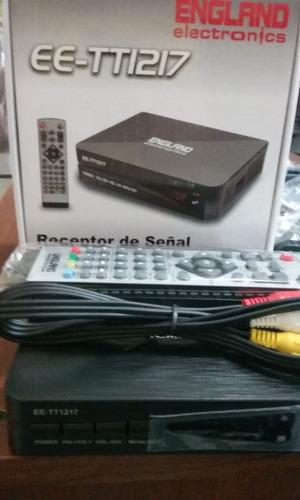 receptor de señal analógica a hd digital marca england