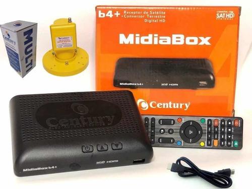 receptor digital midiabox b4 c/lnbf multiponto super digital