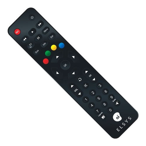 receptor elsys oi tv livre hd etrs37 - 60 canais livres