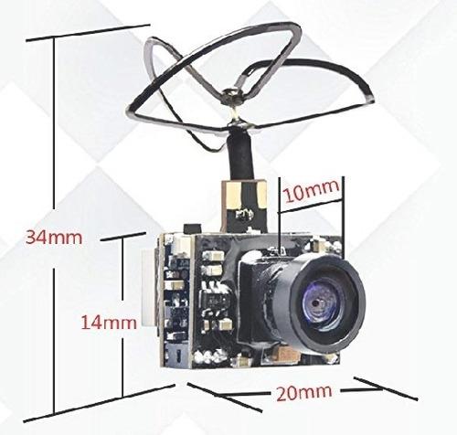 receptor emisor y camara fpv drone