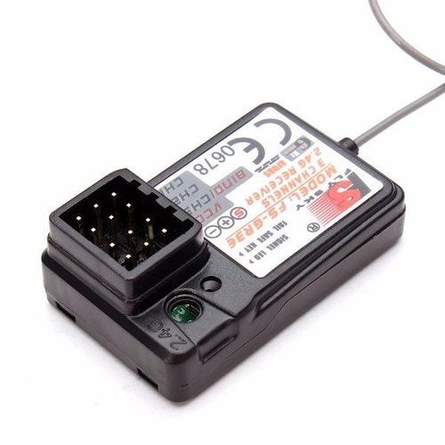receptor flysky 3 canales para carros redcat exceed hsp rc