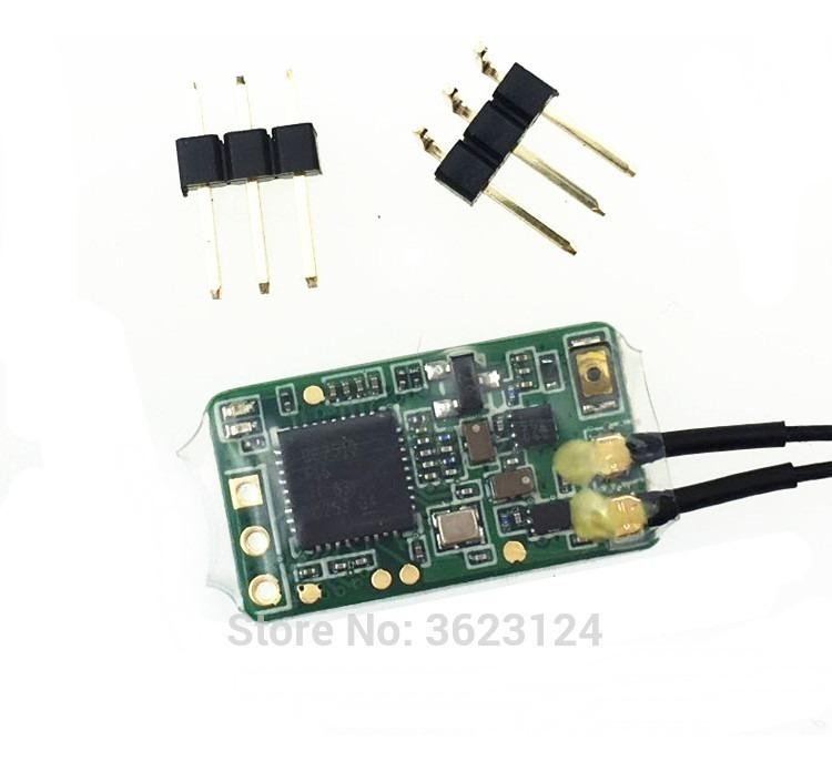 Receptor Frsky Micro Sbus Xm + Plus Até 16ch Rssi Racer Fpv