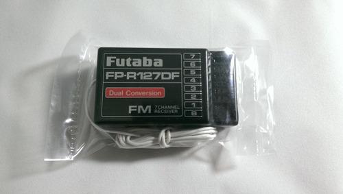 receptor futaba fp-r127df 7 canales fm 72mhz dual conversion