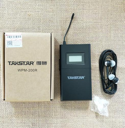 receptor in ear takstar wpm200