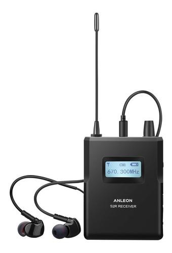 receptor inalambrico anleon s2r monitoreo in ear - cuotas