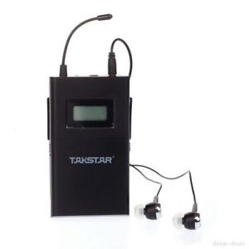 receptor inalambrico takstar wmp-200r  sistema uhf concierto
