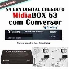 receptor midiabox b3 century digital embarco dia da compra