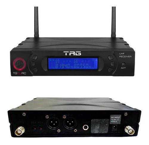 receptor multi. tg-88rc + transmissor s/fio tg-88tr tagsound
