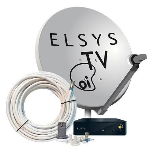 a7cb5b38a95 Receptor Oi Tv Livre Hd + Antena + Habilitação Grátis - R  558