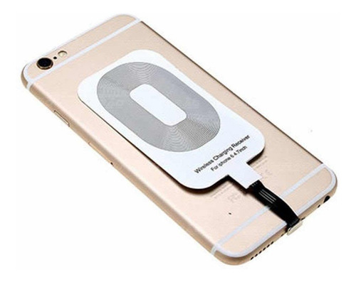 receptor p/ carregador qi wireless iphone sem fio portatil