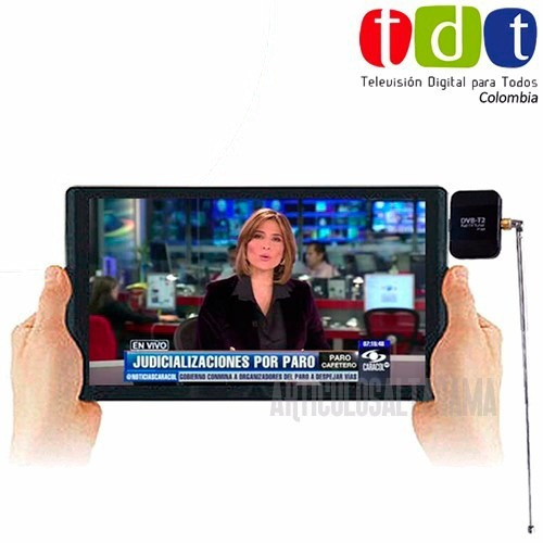 receptor pad tv digital tdt para celular / tablet android