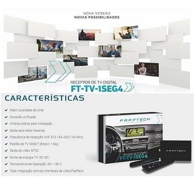 receptor sintoniza tv digital 1seg 4 faaftech ft-tv-1seg iv