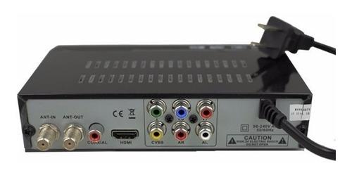 receptor sintonizador conversor tv analogica digital decodificador tda receptor televisión digital abierta - lanús