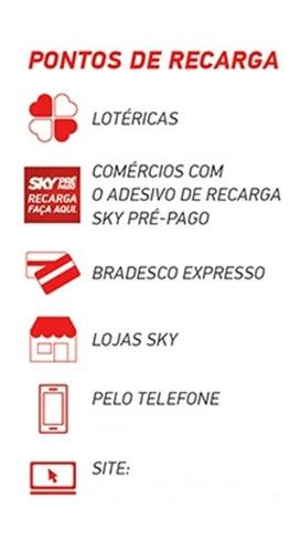 receptor sky pré-pago flex sd + habilitação + rca + barato