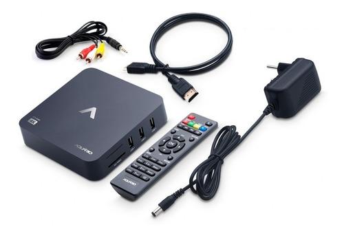 receptor smart tv box 4k android nougat stv-2000