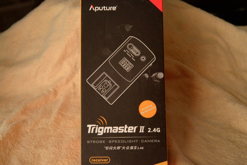 receptor  trigmaster ii 2.4g p/ nikon o canon ( envio gratis
