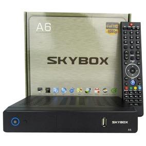 Receptor Tv Set Top Box Para Skybox A6 Hd Iptv Apoyado Full