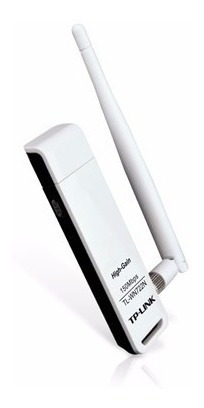 receptor wifi usb inalámbrico tp-link tl-wn722n 150mbps