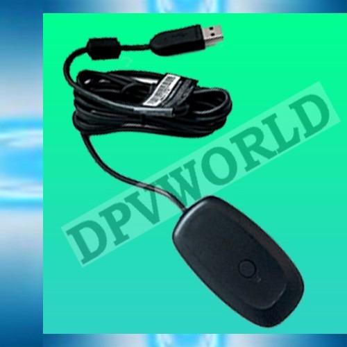 receptor wireless pc control inalambrico xbox 360 +cd driver