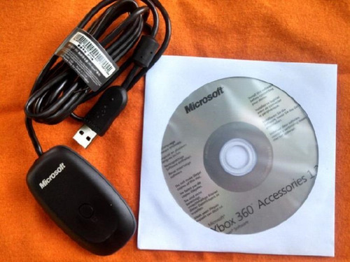 receptor wireless xbox 360 adaptador pc original 100%